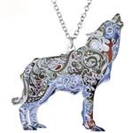 Boho Wolf Necklace