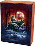 View details for this Fire Moon Hunters Wolf Cedar Box