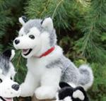 Grey Husky Plush