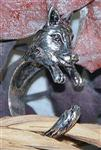 View details for this Hold On Wolf Ring