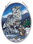 View details for this Howling Lessons Wolf Window Art