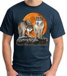View details for this Hunter's Moon Wolf T Shirt -XXL