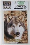 View details for this Niko, Jumbo Wolf Magnet