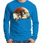 View details for this Wolves Sapphire Long Sleeve TShirt-L