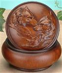 Loving Wolves Trinket Box