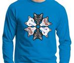 Misfits Long Sleeve Wolf T Shirt -XXL