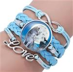 View details for this Moonlight Howl Leather Bracelet