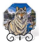 Night Watch Wolf Beveled Octagon Suncather