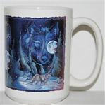 Path to the Stars Wolf Mug