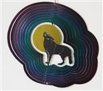 "View details for this Rainbow Howl 7"" Wolf Spinner"