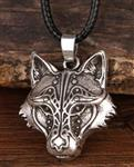 View details for this Regal Wolf Necklace