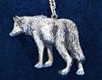 Shadow Wolf Necklace