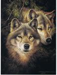 Timber Mates Wolf Collector's Card
