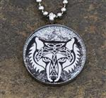 View details for this Tribal Wolf Necklace