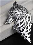 Tribal Wolf Pin