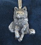 View details for this Watch Over You Wolf Necklace