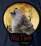 Wild Thing Child's Wolf T Shirt - CS