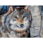 Winter Wolf Wall Art Canvas