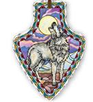 View details for this Wolf Suncatcher Arrowhead
