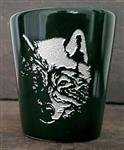 Wolf Etched Shot Glass