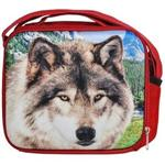 Wolf Face 3D Lunch Tote