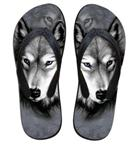 View details for this Wolf Flip- Flops - 9/10