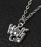 View details for this Wolf Girl Necklace Link Chain