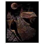 View details for this Wolf Howl Copper Engraving Kit