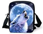 View details for this Wolf Howl Messenger Bag