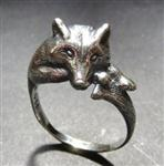 View details for this Wolf Hugger Ring