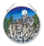 View details for this Wolf Night Watch Crew  Window Art