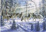 Wolf Pack Holiday Card