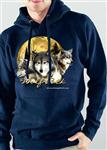View details for this Wolf Pack Pullover Hoodie - XL