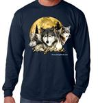 Wolf Pack Long Sleeve T Shirt - M