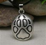 View details for this Wolf Paw Necklace