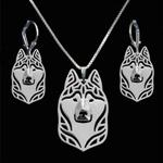 View details for this Wolf Silver Plated Jewelry Set