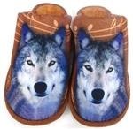 View details for this Wolf Slippers Brown - L