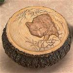 View details for this Wolf Trinket Box