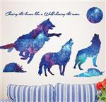 Wolf Wall Decal Mural