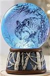 Wolf Light Up Waterglobe