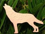 View details for this Wolf Wood Pin
