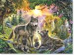 Wolf Pack Note Card Set