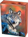 View details for this Wolf Stare Cedar Box