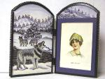 View details for this Wolf Folding Picture Frame
