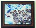 View details for this Wolves in Snow 3D picture
