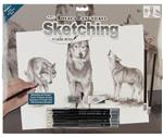 Wolves Sketching Art Project