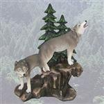 Wolves' Domain Figurine