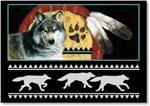View details for this Pathfinder Wolf Notecard