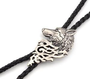 We love this new wolf bolo tie!