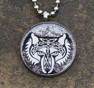 New in our Gift Shop with a very cool Wolf design.